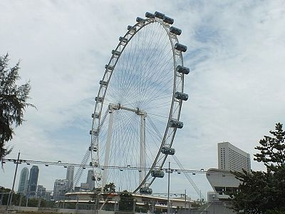 Singapore Flyer, Tallest Ferris wheel in the world